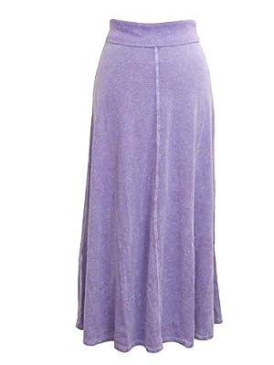 Hard Tail Roll Down Cotton Skirt B-131