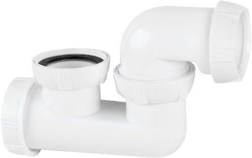 Wirquin SP602 Siphon de Baignoire à Sortie orientable, Blanc