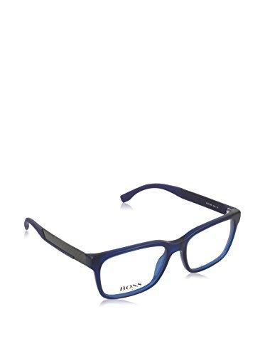 Hugo Boss BO-8017-J-KUN-55-15-140 Orange Brillengestelle BO-8017-J-KUN-55-15-140 Rechteckig Brillengestelle 52, Blau