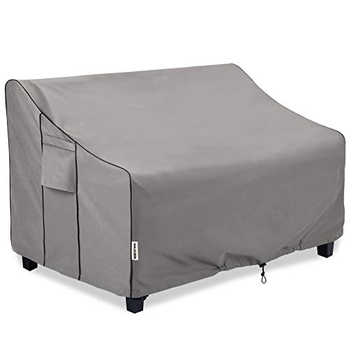 BOLTLINK Outdoor Patio Furniture Covers Waterproof ,Durable 3-Seater Sofa Cover Fits up to 87W x 37D x 35H inches
