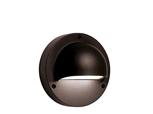 Garden Lights GL3132011 Deimos Black-Wall Sac à Dos 12 V Noir 14 x 8 x 14 cm