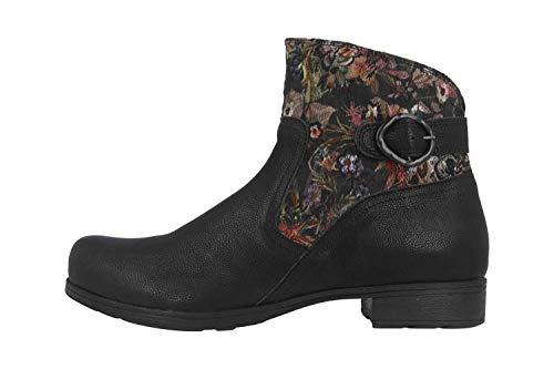 Think! Damen Denk_585016 Biker Boots, Schwarz (Sz/Kombi 09), 41 EU