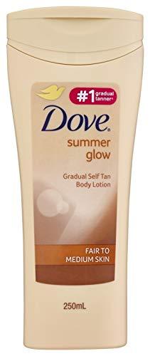 Dove Summer Glow Body Lotion Fair to Medium Skin, 250ml