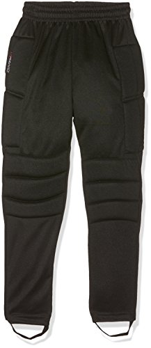 Avento pour Enfant 72 KF Junior Pantalon de Gardien de But, Enfant, 8716404028367, Noir, Size 140