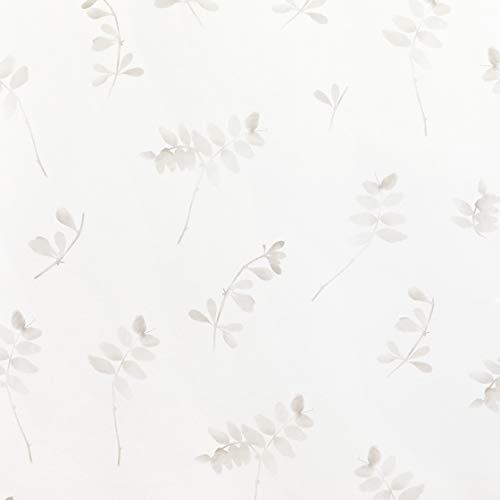 Kenay Home - Papel Pintado Lille Wallpaper, Flores beige