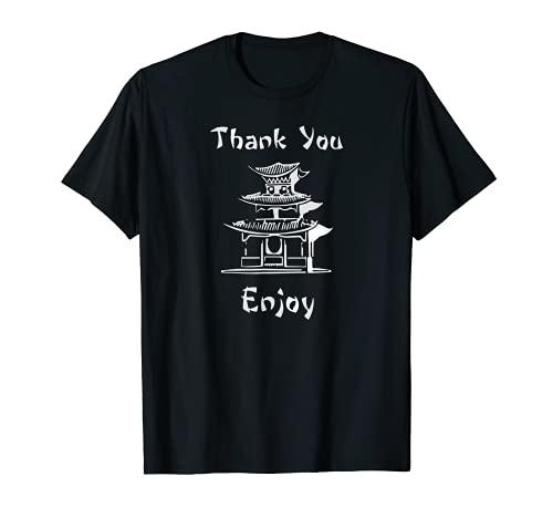 Boîte à repas chinoise pour costume T T-Shirt