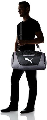 PUMA mens Puma Evercat Contender 3.0 Duffel Bags, Gray/Black, One Size US Nebraska