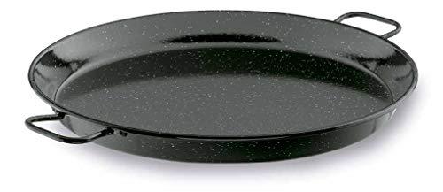 Lacor - 60161 - Paellera Esmaltada 60 cms.- Negro