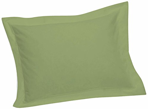 Crescent Tailored Comfy Easy Care Pillow Sham Standard (Sage)