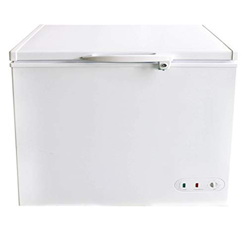 DUURA DCF7 Heavy Duty Commercial Sub Zero Chest Freezer Locking Lid NSF Garage Ready, 7 Cubic Feet 198 Liter 37.8 Inches Wide, White