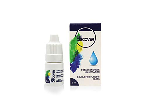 EYE DISCOVER Lágrimas Artificiales con Ácido Hialurónico, Gotas Hidratantes para Ojos Secos (6 ml)