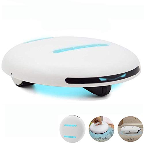La eliminación de ácaros del Robot UV Limpieza automática del Aparato de esterilización Desinfección Acarus Killing Limpiador de Sensor Inteligente inalámbrico Máquina