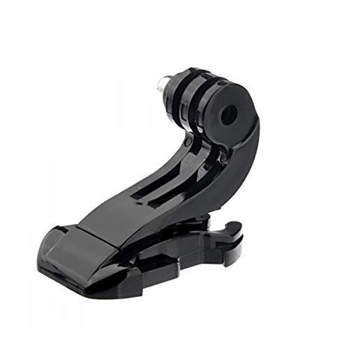 healthwen 1PCS J-Hook Buckle Surface Mount per Xiaomi Yi SJCAM SJ4000 SJ5000 SJ7000 per Gopro 7 6 5 4 3 Action Camera Nero