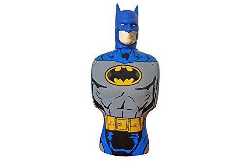 Duschgel für Männer als Batman Figur - 350 ml Duschseife für Herren und Kinder - Actionfigur für die Dusche & Badewanne