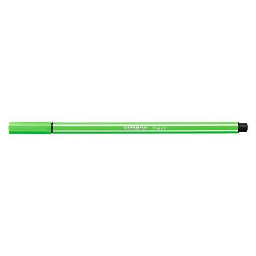 Caneta Hidrográfica Pen 68/43 Verde Folha Stabilo