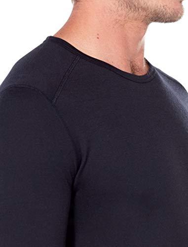Icebreaker Herren 200 Oasis SS Crewe T-Shirt, Black, S - 5