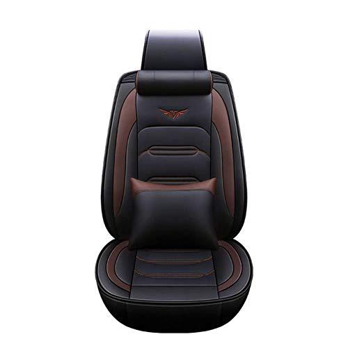 Coprisedili Auto Universale per Mitsubishi Asx Sport Colt Galant Grandis L200 9 10 Pajero 2 3 4 Full Coprisedile Auto Accessori, Caffè di lusso