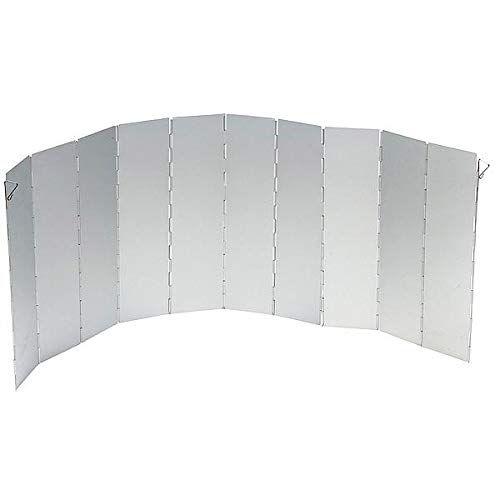 Bo-Camp - Paravent rëchaud - 10 pièces - Universel - Hauteur 36 cm