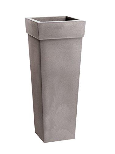 Nicoli R2640S Evolution Matt stampaggio rotazionale Geryon Vaso, Cenere, 40x 40x 100cm