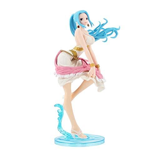 Anime One Piece Figure Nami Boa Hancock Nico Robin Vivi Pudding Reiju Bonney Action PVC Figure da collezione Model Toy 23 cm