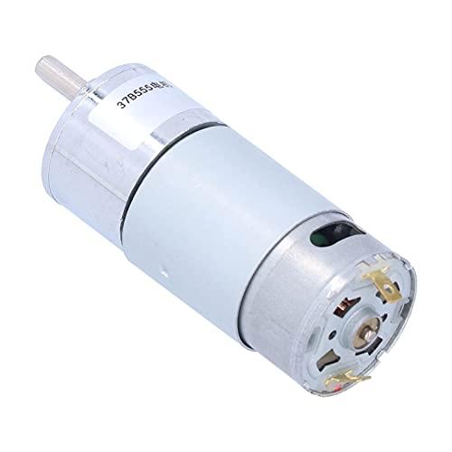Motor de CC, buena tenacidad Gran capacidad de carga Motor de engranajes de CC para herramientas eléctricas para válvulas electrónicas para aparatos sanitarios(Velocidad 150 RPM)