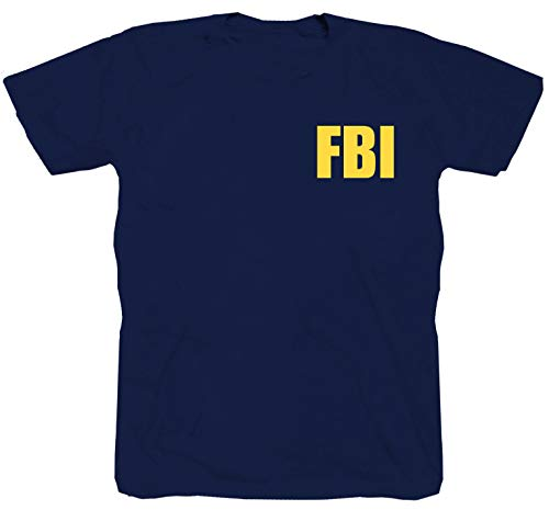FBI - Camiseta de manga corta, diseño de LKA CSI Navy CIS A