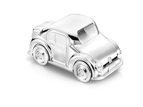 Spardose Auto versilbert anlaufgeschützt 13x7x7cm