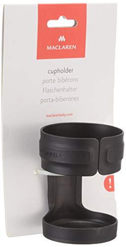Maclaren Getränkehalter – Ein essentielles Buggy-Zubehör. Lässt sich einfach und sicher am Rahmen aller Maclaren-Buggys und aller Regenschirm-Falt-Buggys anderer Marken befestigen