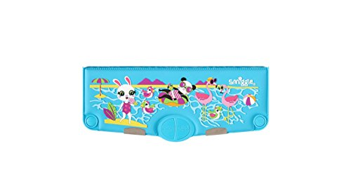 Smiggle Party Siliconen Geparfumeerde Pop Out Potlood Case Lichtblauw