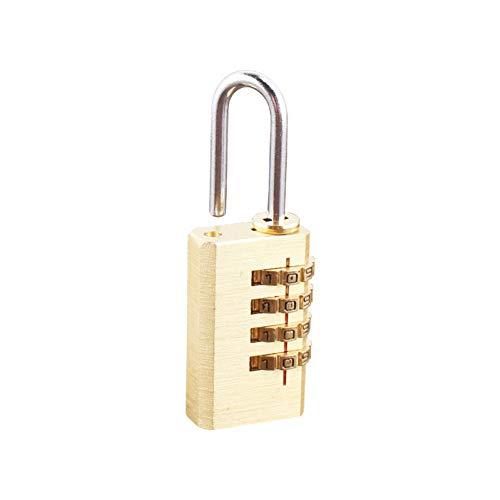 GHFKXTN Master Lock TSA Locks Candado de combinación Inteligente para Equipaje de Viaje Maleta Candado con código antirrobo Candados con contraseña de Aduanas