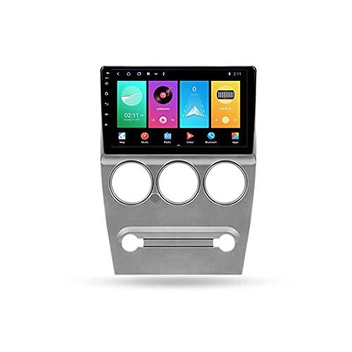 Android 10.0 Car Stereo Double DIN Radio para Citroen C-Elysee C Elysee 2009-2016 Navegación GPS Reproductor Multimedia de 9 '' Receptor Video Bluetooth con 4G/5G WiFi SWC DSP USB Carplay