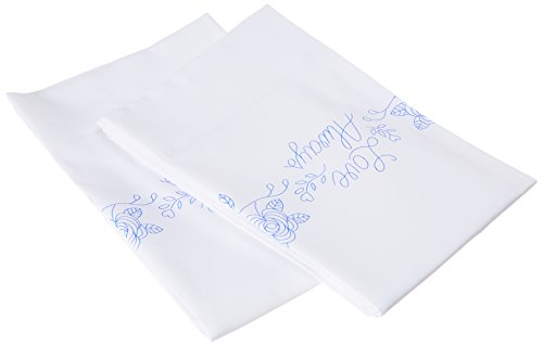 Design Works Crafts Tobin, 20' x 30' Stamped Pillowcases for Embroidery, Love Always
