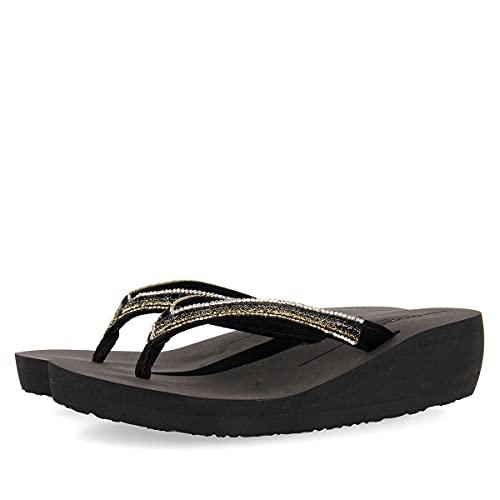 GIOSEPPO Yeovil Negro 59663 Sandalias para Mujer, 37