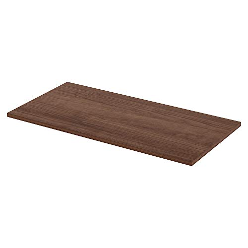 Lorell Active Office Relevance Table Top, Walnut,Laminated