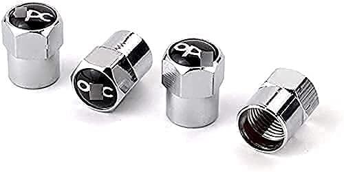 Coche Neumático Tapas Válvulas para Opel OPC Astra Zafira Corsa Mokka, Antirrobo Antipolvo Resistente Agua Decoración Accesorio
