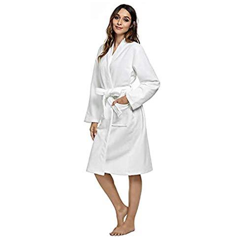 Buyall Bademantel, Womens Bademantel weiche Kimono-Roben,...
