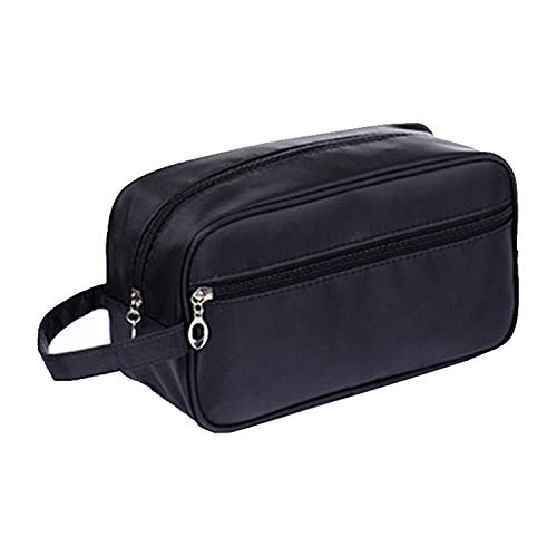 Cosmetic Bag For Cosmetics Organizers Women Travel Necessaire Waterproof Ladies Makeup Bag Men Beauty Case Pack Up The Wash Bags Black