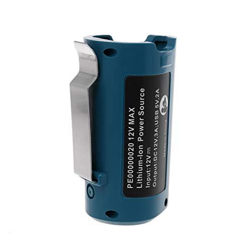 KunmniZ Adaptador de cargador USB de repuesto de 12 V para batería de iones de litio con calefacción PE0000020