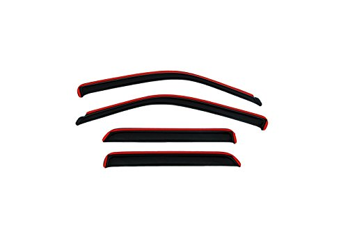 Auto Ventshade 194538 In-Channel Ventvisor Side Window Deflector, 4-Piece Set for 2007-2010 Chevrolet Aveo