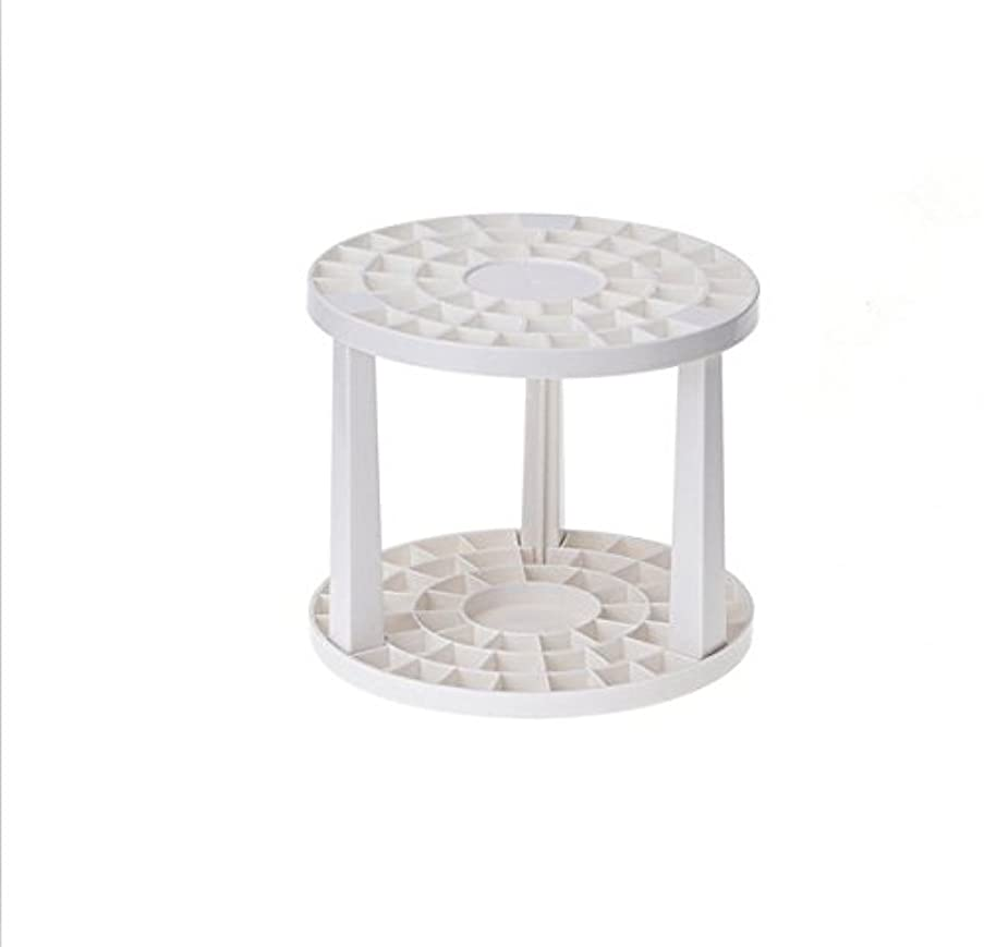 Round Stand Paint Brush Holder Organizer For Gel Pens,Paint Brushes,Colored Pencils,Markers & More.(49 Holes,Plastic)