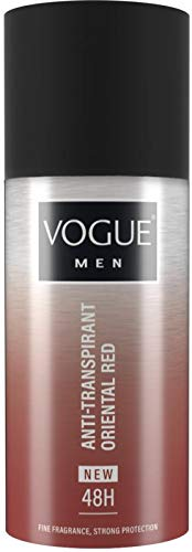 Vogue Men Oriental Red Anti Transpirant, 150 Ml