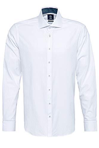 Herrenhemd Gabano GBN211-03 weiß Modern Fit, Kleidungsgröße:XXL