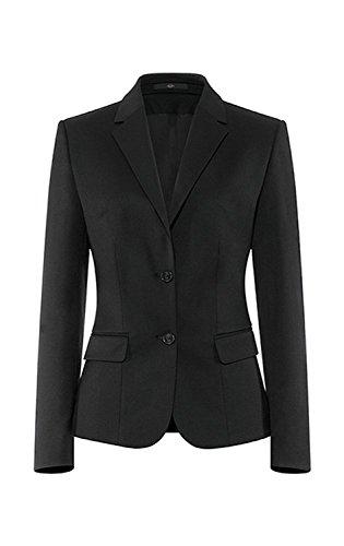 GREIFF Herren-Weste Anzug-Weste Basic Comfort fit - Style 1225, Farbe: schwarz, Größe: 26