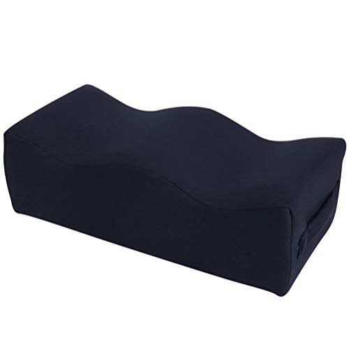BESPORTBLE Memory Foam Seat Cushion Buttock Shaping Pillow for Office Chair Car Seat Wheelchair Back Hip Tailbone Pain Black