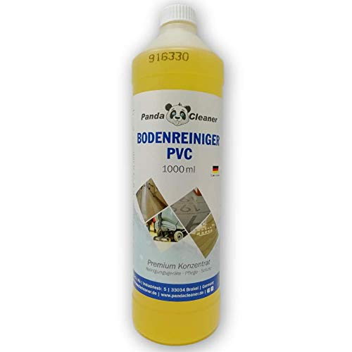 PandaCleaner® Bodenreiniger PVC - 1000ml Premium Bodenreiniger-Konzentrat - Vinylboden-Reiniger - Designboden Reiniger