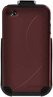 Seidio BD2-HK3IPH4V-GR-DILEX 保护套组合适用于苹果 iPhone 4/4S garnet 红色