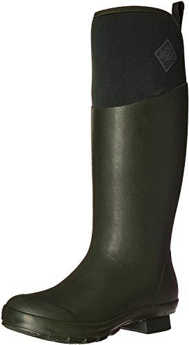 Muck Boots Damen Tremont Wellie Matte Tall Gummistiefel, Grün (Deep Forest/Charcoal Gray), 38 EU