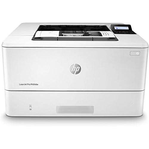 HP LaserJet Pro MFP M404dw Stampante Laser Monocromatica, Wireless, Capacità Vassoi Carta 350, Velocità 38 ppm, Stampa Fronte/Retro Automatica, Display LCD 2 Righe, USB, Bianco