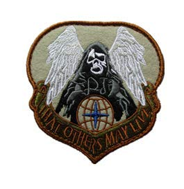 That Others May Live AIR Force Pararescue PJ Embroidery Patch Military Tactical Morale Patch Badges Emblem Applique Hook Patches for Clothes Backpack Accessories