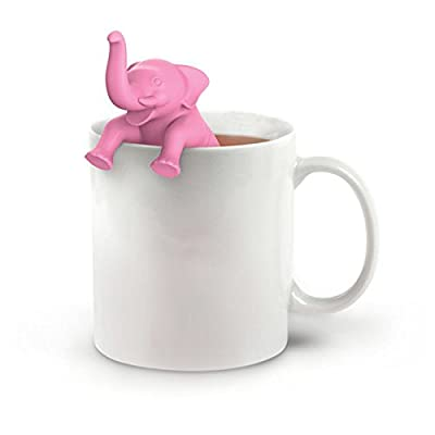 Infuseur à thé-mignon Dessin animé en silicone Tisane en vrac Passoire filtre Diffuseur pour grande tasse